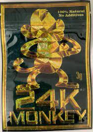 24K Monkey Herbal Incense